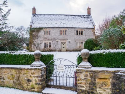 Corscombe In Snow
