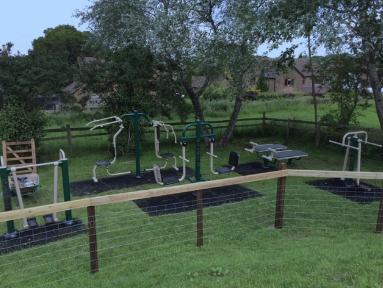New Outdoor Gym – Corscombe Playground